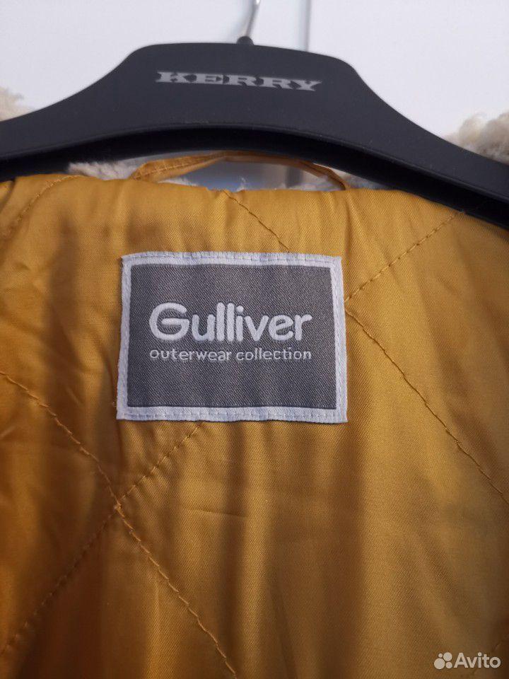 Пальто, шапка и снуд р. 140 на мальчика Gulliver  89059801353 купить 6
