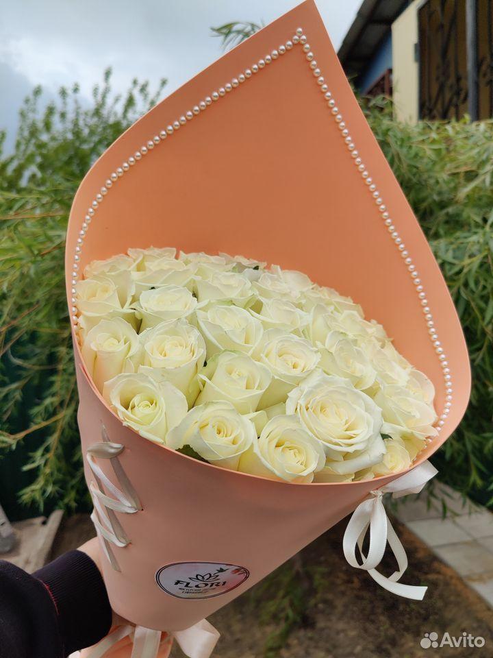 Розы букет Соната  89997501234 купить 1