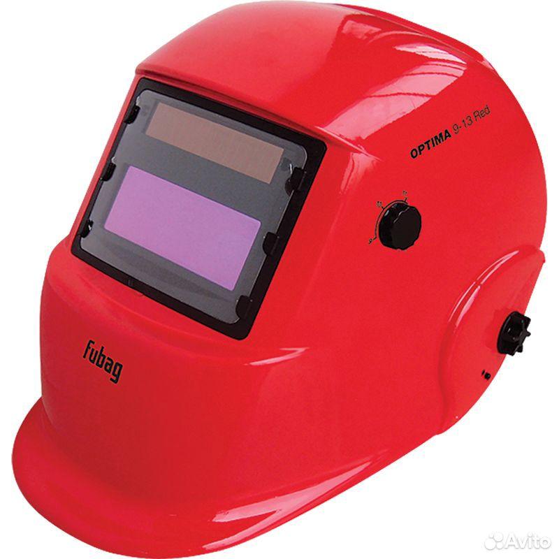 89124002166  Маска сварщика Хамелеон fubag optima 9.13 RED